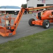 Аренда коленчатого подъёмника дизельного самоходного JLG 600AJ фото