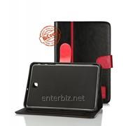 Чехол BeCover Folio PU для Samsung Tab S2 8.0 T710, T715 Black/Red (700602) DDP, код 132113 фото