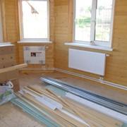 Монтаж системы отопления и водоснабжения в Москве и области под ключ фото