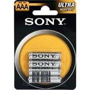 Батарейка Sony R03 New Ultra блистер 4шт /100/ фото
