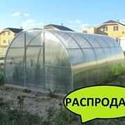 Теплица Сибирская 40Ц-1, 6 м, оцинкованная труба 40*20, шаг 1м + форточка Автоинтеллект фото