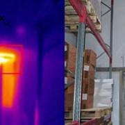 Тепловизионное обследование морозильной камеры фото