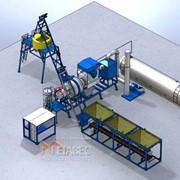 Завод асфальтный мобильный МВ АЗм-15 фото