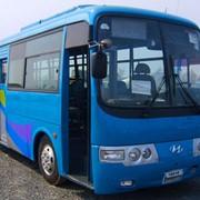 Рулевые тяга продол новые модель №1 5520-2810 на автобус Hyundai aero town фото