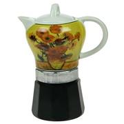 Кухонная кофеварка Подсолнухи фото