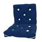 Подушка судовая M-7211 темно-синяя фото