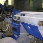 Флокирование панели автомобиля фото
