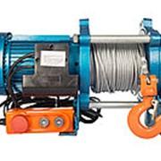 Лебедка TOR ЛЭК-750 E21 (KCD) 750 кг, 380 В с канатом 70 м фото