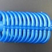 Карниз телескопический для ванной комнаты 110-220 голубой (1/30) фото