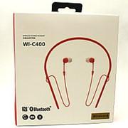 Беспроводные наушники Wireless WI-C400 Black & Red фото