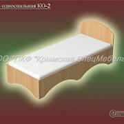 Кровать односпальная КО-2 фото