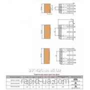 Комплект фрез для сращивания древесины по ширине наращиваемый по высоте 125х32х16х6 050.09.03.00. фото