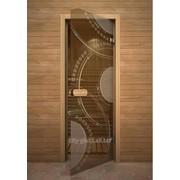 Дверь Арт серия с рисунком ГлассДжет Кольца фото