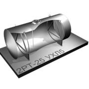 Резервуар одностенный с опорами Р-25 фото