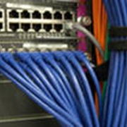 Монтаж сетей операторов связи фото