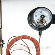 ТМП-100С термометр манометрический сигнализирующий электроконтатный (ТКП-100эк, ТГП-100эк) фото