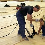 Монтаж спортивного оборудования, покрытий фото