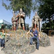 Скульптура Три Богатыря фото