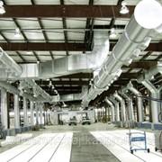 Вентиляция производственных помещений, цеха, завода, мастерских, СТО фото