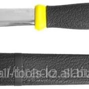 Нож Stayer PROFI, туристический, пластиковые ножны, лезвие-110мм Код:47630 фото