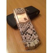 Телефон Vertu Signature S Design Gold Python 86898 фото
