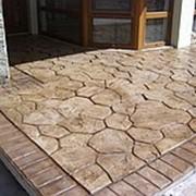Пресс-бетон,декоративное покрытие фото
