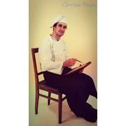 Шоколадный художник фото