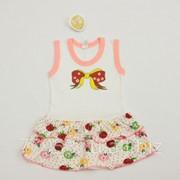 Платье-сарафан бант 3876-к-16 кулирная гладь, размер 52-92 фото