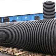 Резервуары двухстенные из полиэтилена высокой плотности (PEHD) для хранения дизельного топлива. фото