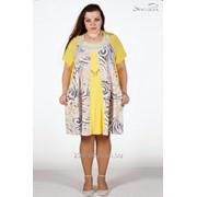 Платье 1721 Желтый цвет фото