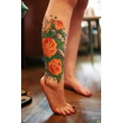 Цветные татуировки фото