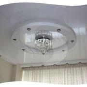 Потолки с элементом кольцо фото