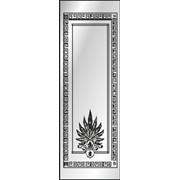 Обработка пескоструйная на 1 стекло артикул 4-15 фото