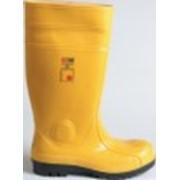 Сапоги защитные Art. 50 SAFETY S5 Желтые фото