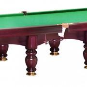 Перетяжка столов для бильярда фото