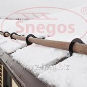 Снегозадержатель Snegos Бревно Эко фото