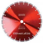 Алмазный диск с турбосегментом FB/T Messer для резки высокоармированного бетона, сухой/мокрый рез фото