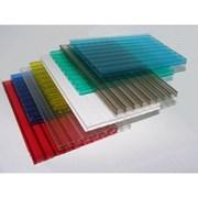 Сотовый поликарбонат для навесов 8мм 1.5кг/м2 цветной Р.Б фото