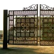 Литьё Ворота фото