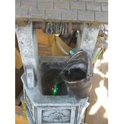 Садовые украшения фонтан с мотором фото