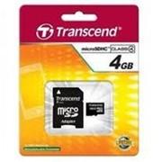 Карта памяти Transend microSD 4Gb фото