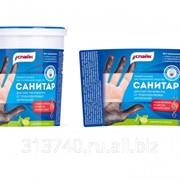 Крем-Паста Санитар для очистки кожи рук от трудноудаляемых загрязнений (натуральным мягким абразивом) фото