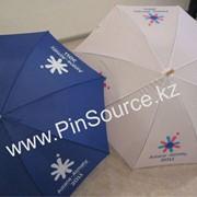 Нанесение лого на зонты на заказ фото