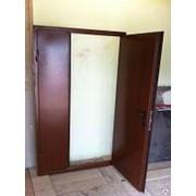 Дверь входная металлическая с повышенной шумоизоляцией одно и двустворчатые фото