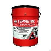 Герметик бутил-каучуковый ТехнонНИКОЛЬ №45 серый, 16кг фото