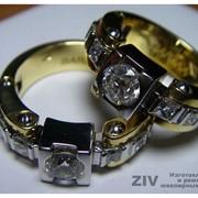 Производство ювелирных изделий из золота на заказ. Изготовление ювелирных изделий.Эксклюзивные ювелирные изделия. фото