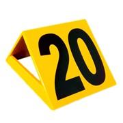Разметочные таблички для метательного сектора от 10 до 45м с шагом в 5метров фото