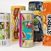 Пищевая упаковка в рулонах фото