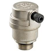 Воздухоотводчик автоматический 1/2 дюйм никель Valtec VT.502, арт.15149 фото