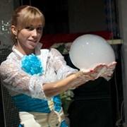 Волшебное шоу мыльных пузырей фото